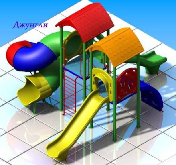 Детский игровой комплекс «Джунгли» 1
