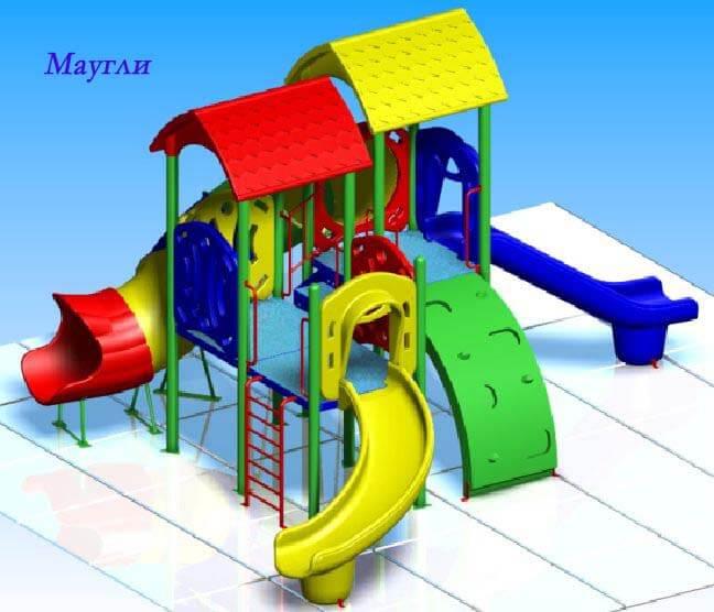 Детский игровой комплекс «Маугли» 1