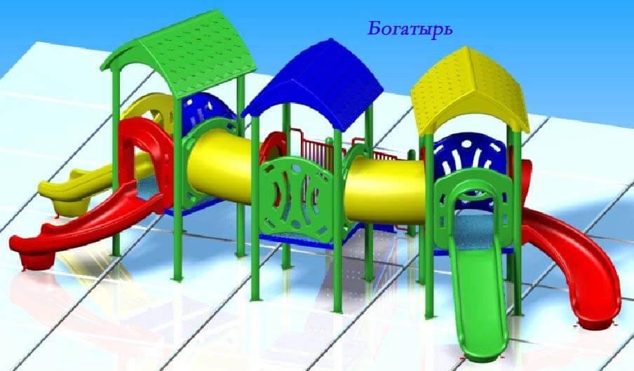 Детский игровой комплекс «Богатырь» 1