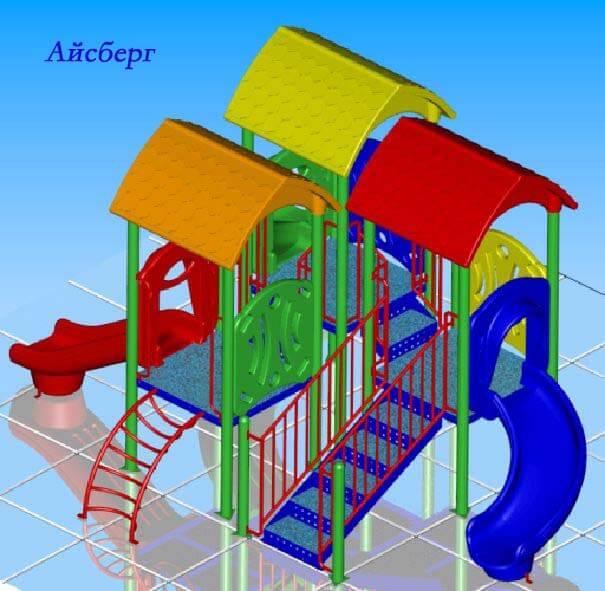 Детский игровой комплекс «Айсберг» 1