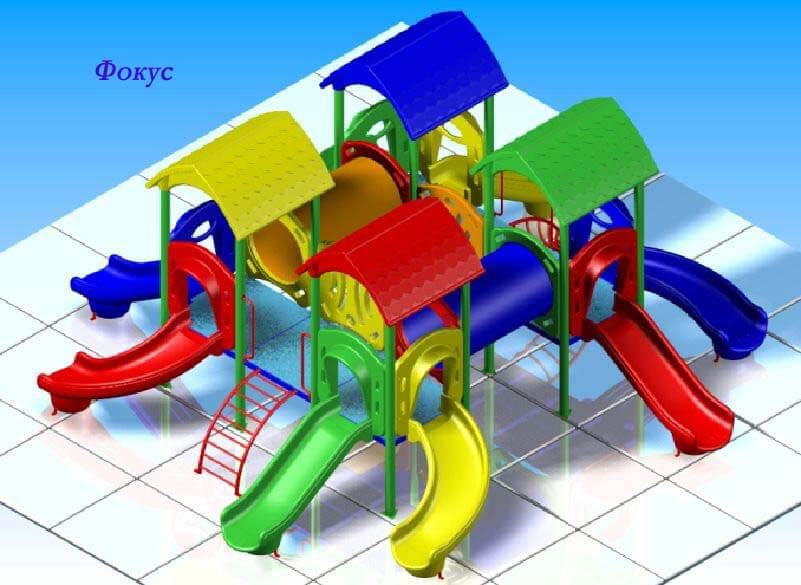 Детский игровой комплекс «Фокус» 1