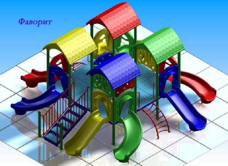 Детский игровой комплекс «Фаворит» 1
