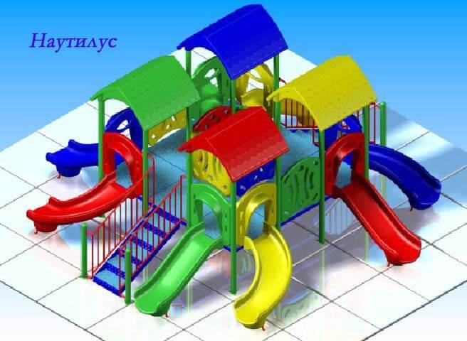 Детский игровой комплекс «Наутилус» 1