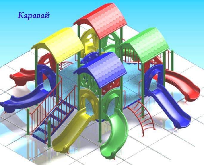 Детский игровой комплекс «Каравай» 1
