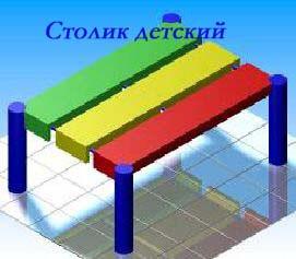 Столик «Детский» 1