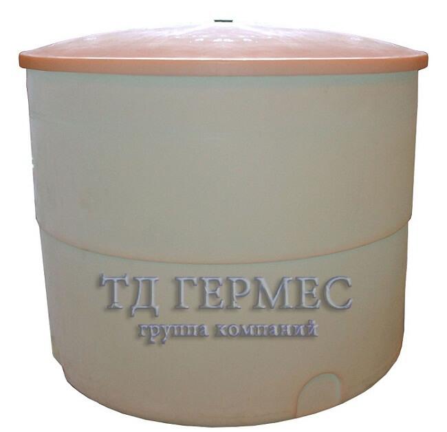 Пластиковая емкость 3000 л (СТ3000К) 1