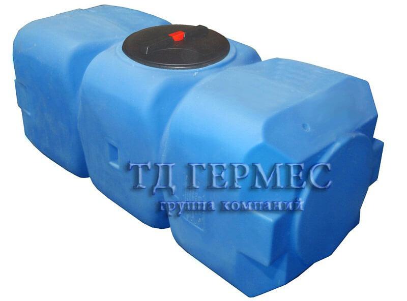 Емкость, бак для воды 800 л горизонтальный (Т800ГФК23) 1