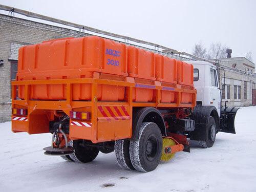 Коммунальный транспортный бак на 2500 литров ( Р 2500 ФК3) , для перевозки реагентов