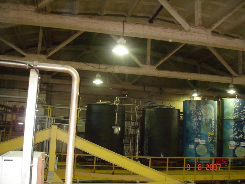 Пластиковый резервуар на 15 м³ ( SB 17-1ВФК 2) , техническая вода для гальванического цеха