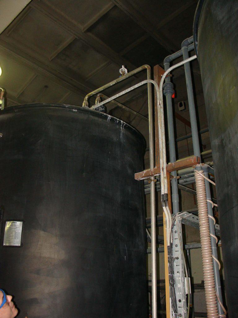 Полиэтиленовая емкость на 15 м³ ( SB 17-1 2ВФК2) для водоподготовки гальванического цеха
