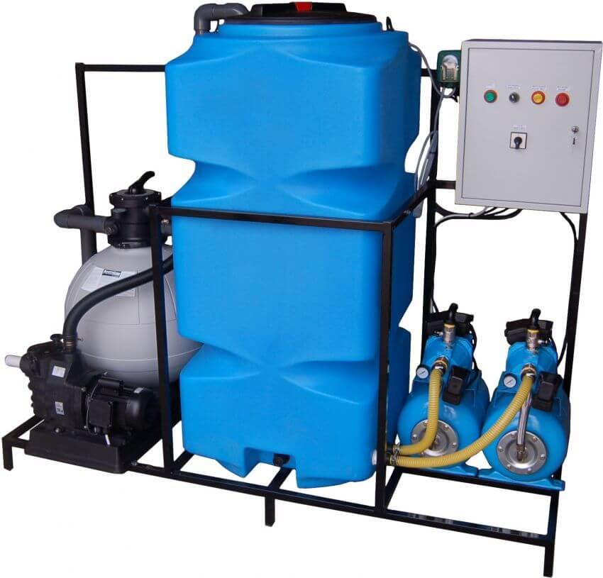 Полиэтиленовый вертикальный бак на 500 л ( Т 500 ВФК2) , для системы водоочистки