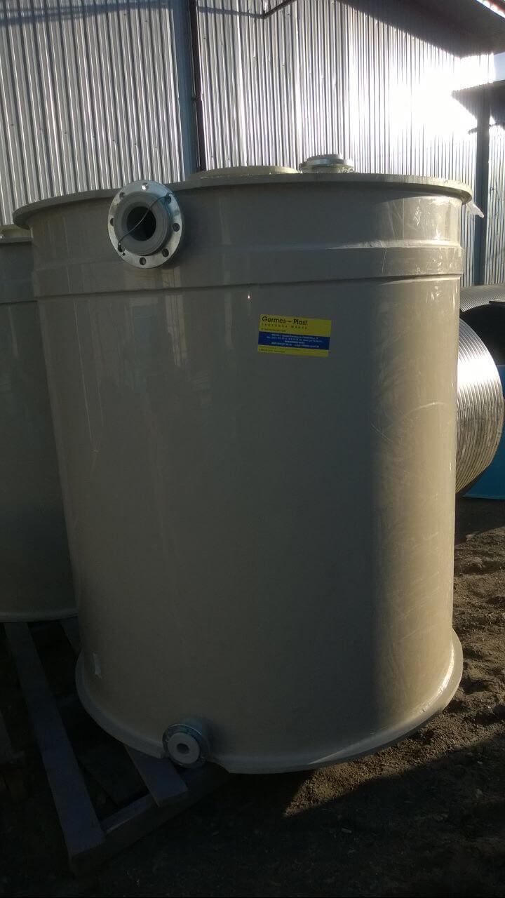 Фото №1. Емкость для технической воды на 3 м3 Ø1,5 Н 1,7. (Вид 1)