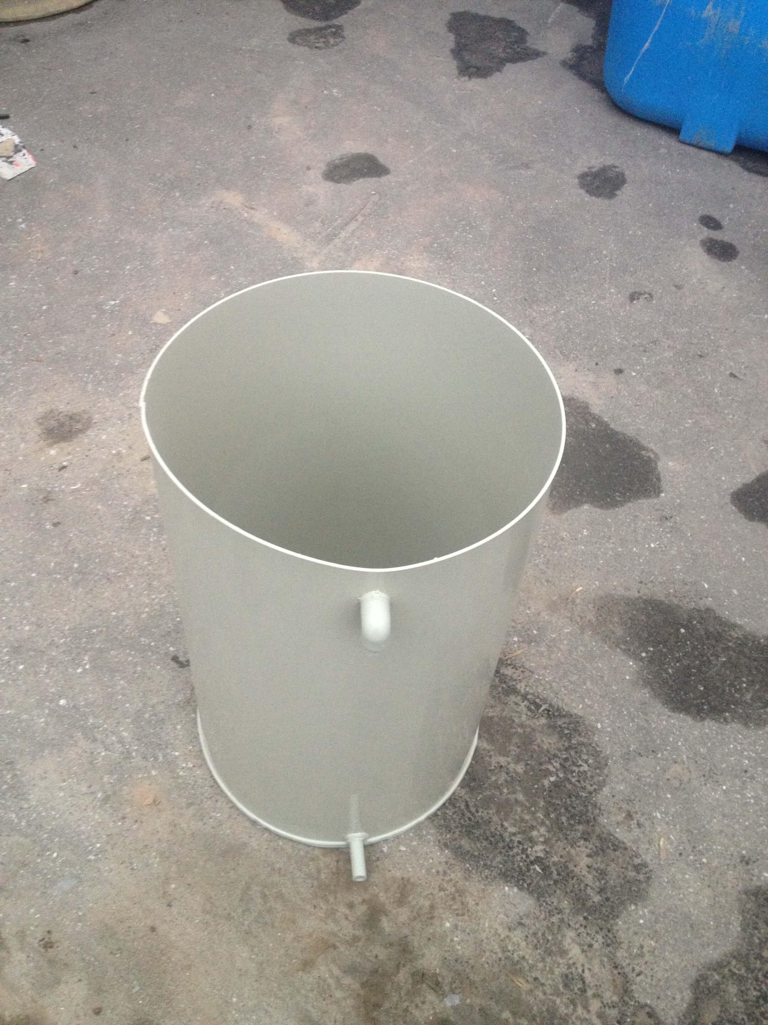 Фото №1. Емкость из ПП на 600 л со съемной крышкой. (Вид 1)
