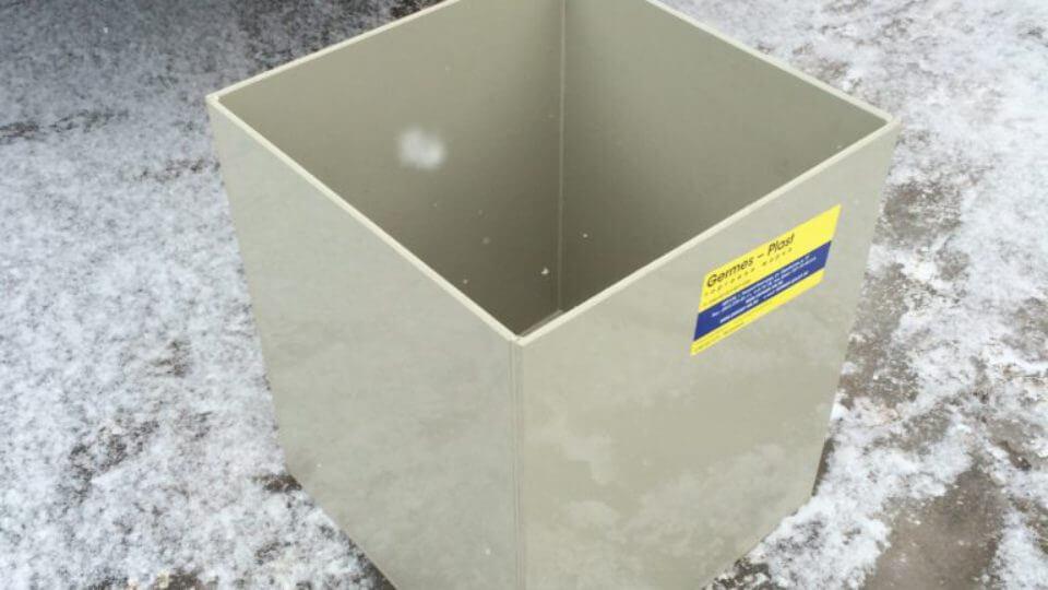Фото №1. Открытая емкость 400х400х600 (техн. вода). (Вид 1)