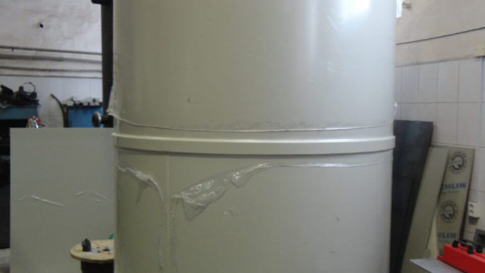 Фото №1. Емкость на 8м3 1850х3000мм для питьевой воды. (Вид 1)