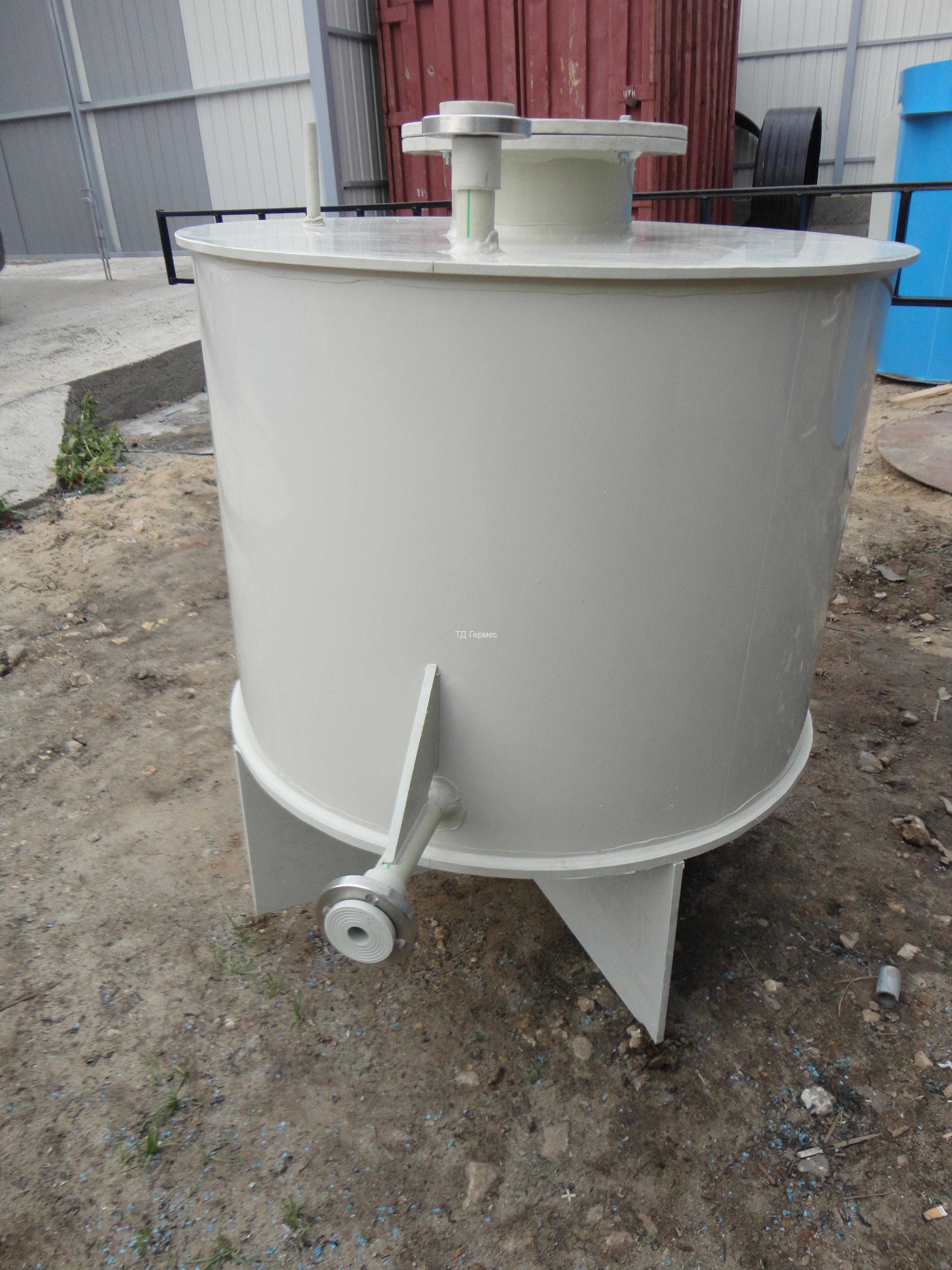 Фото №1. Бак на ножках Ø950 h=1250 для технической воды. (Вид 1)