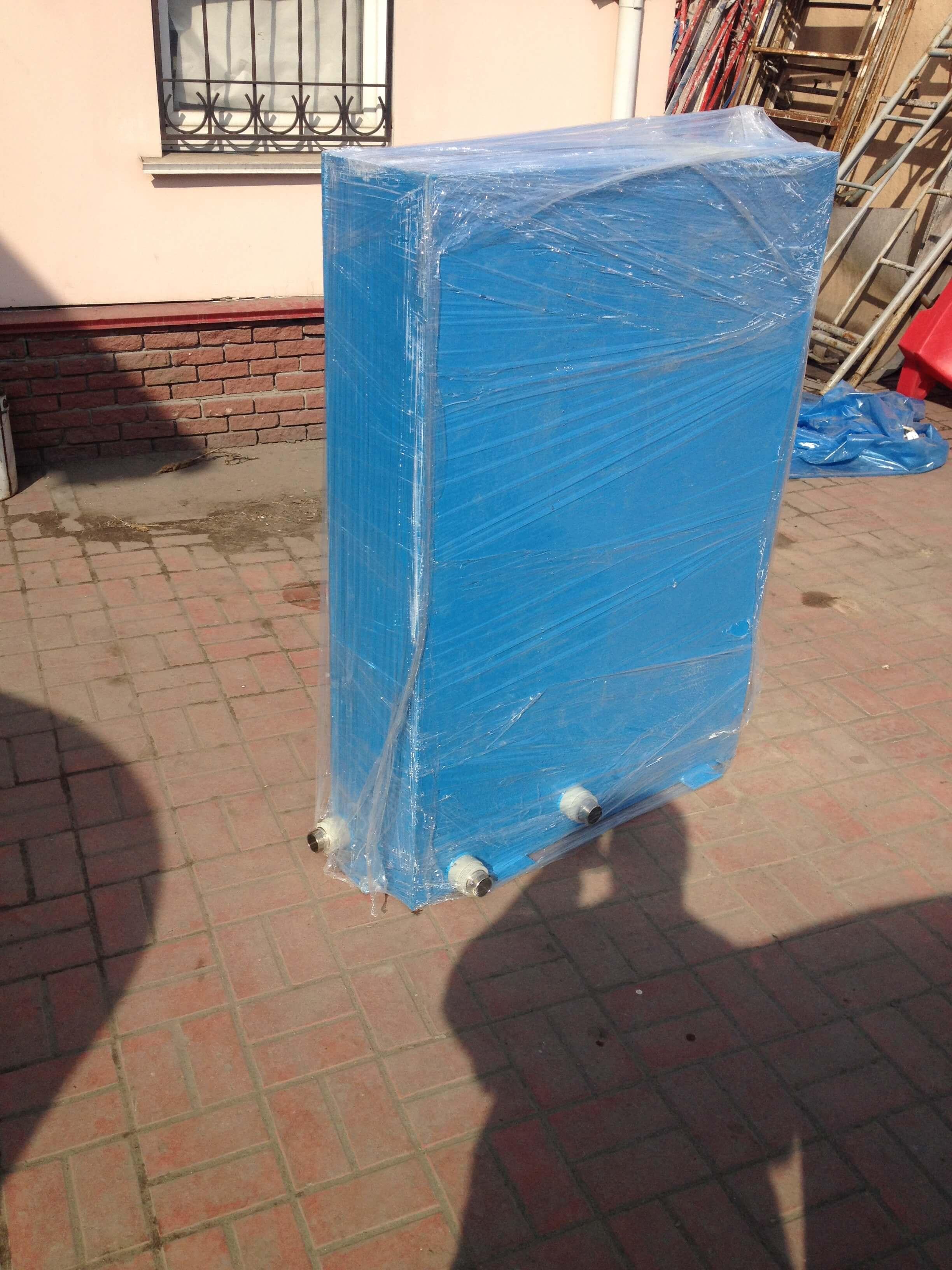 Фото №1. Бак азонатор для насыщения воды озоном. (Вид 1)