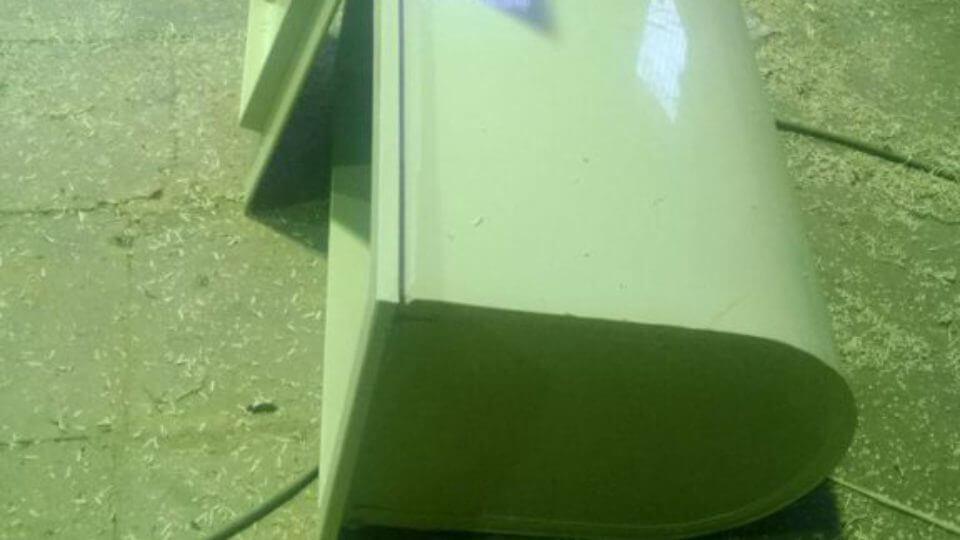 Фото №1. Бак с округлым дном для дезинфекции бассейна. (Вид 1)