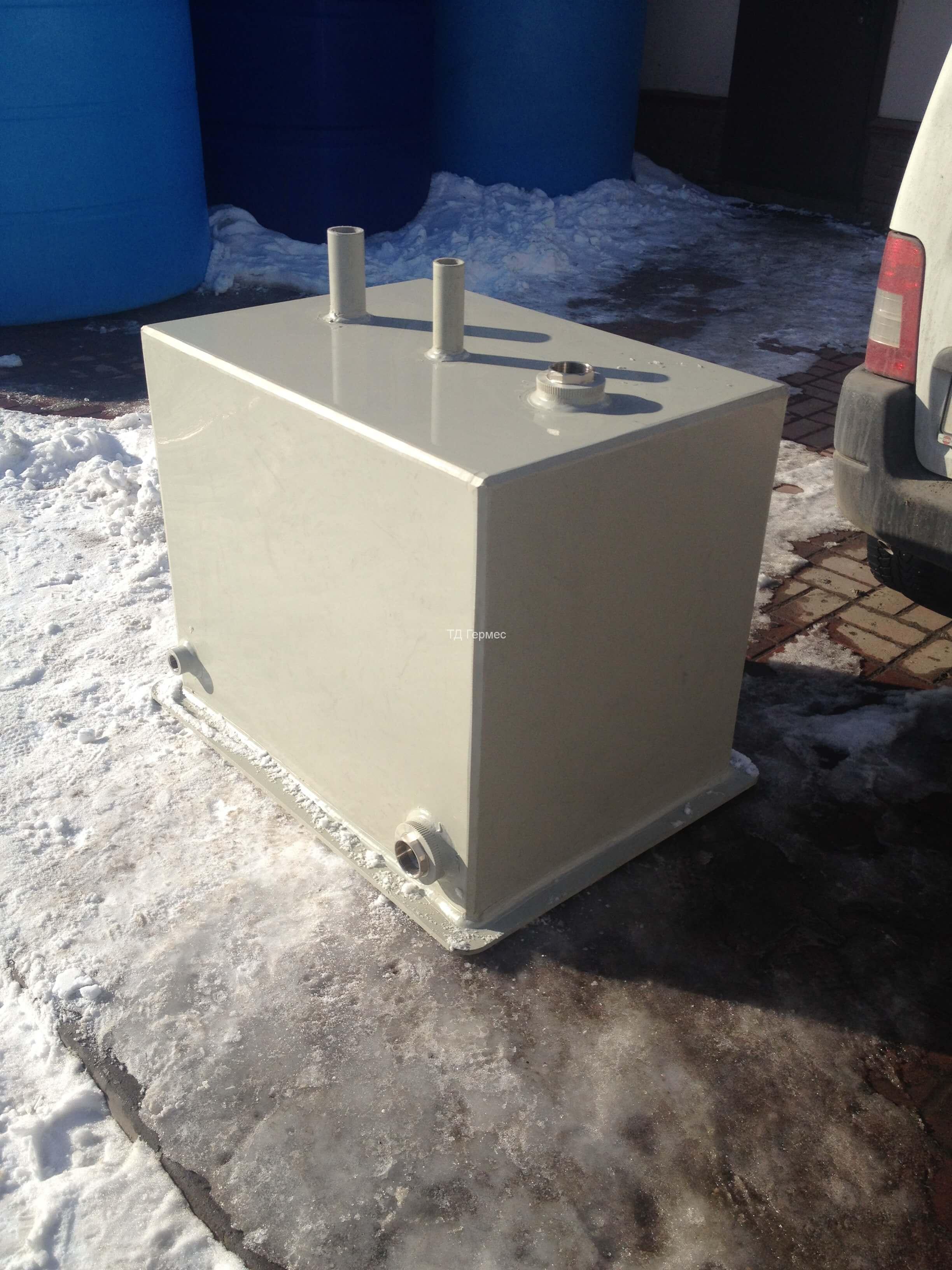 Фото №1. Боксерная емкость для технической воды. (Вид 1)
