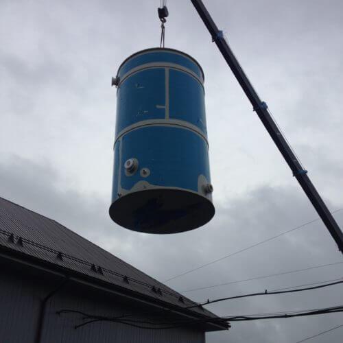 Емкость из ПП Ø2060 Н 3600 на 10 м³ для питьевой воды