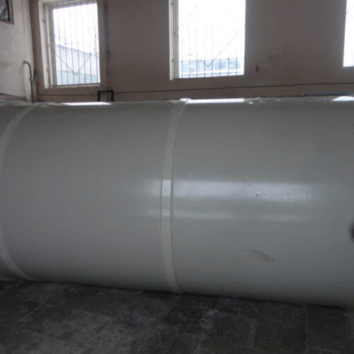 Емкость из ПП цилиндрическая Ø1600 Н=3200 на 6,5 м³ (техн. вода)