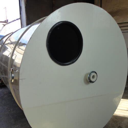 Емкости из ПП Ø 1500 Н 4500 мм на 8 м³ для питьевой воды