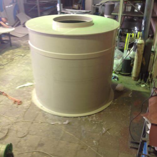 Емкость для питьевой воды на 3,2 м³ Ø1,5 Н 1,8