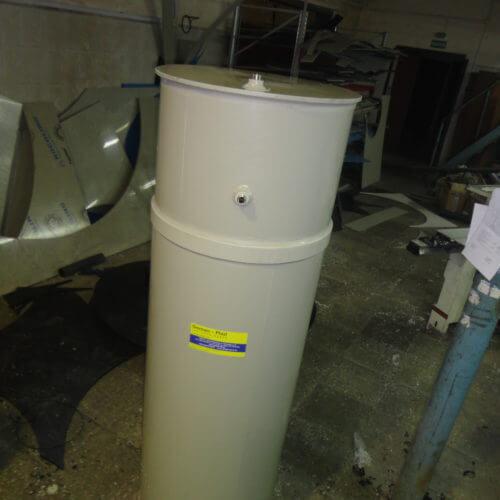 Емкость для питьевой воды на 560 л Ø600 Н 2000