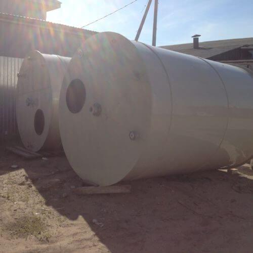 Емкость из ПП на 15 м³ Джурби для дисцелерованной воды