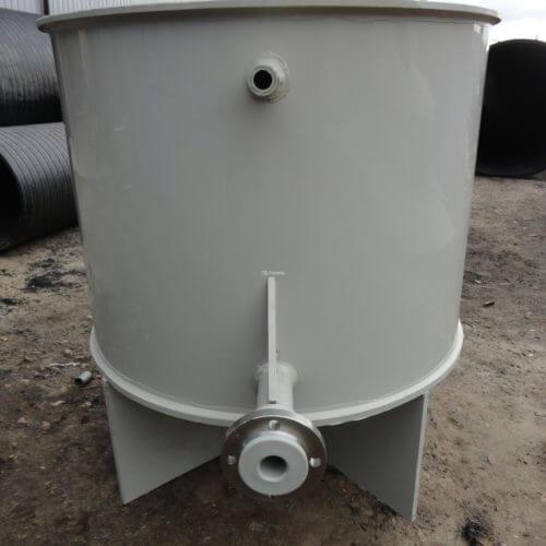 Бак на ножках Ø950 h=1250 для технической воды
