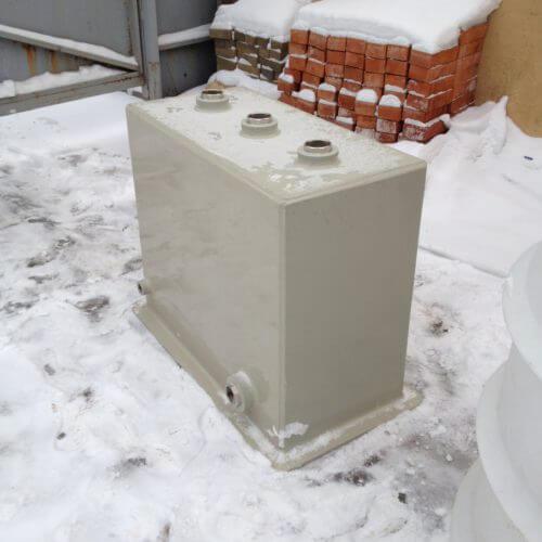 Бак 900х440х750 мм для фильтрации бассейнов