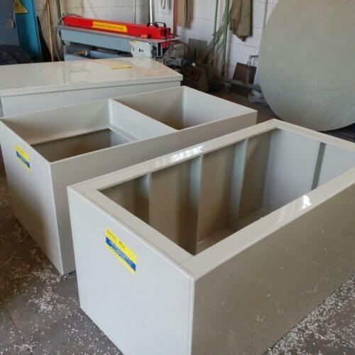 Емкости с крышкой для очистных сооружений