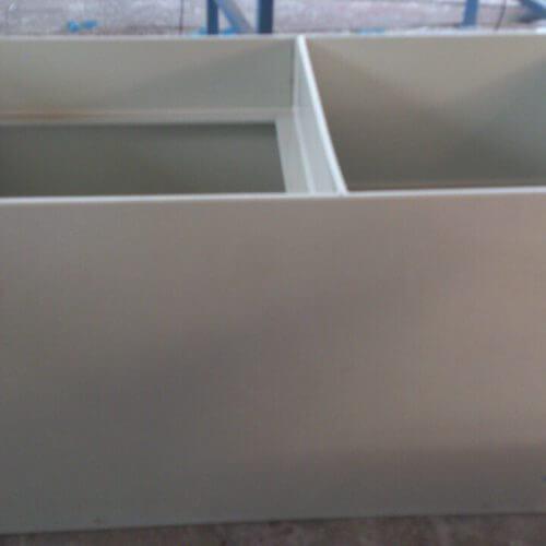 Емкости с плавающими крышками под очистные для прудов 1500х800х700