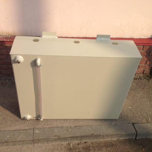 Бак из ПП на 250 литров с уровнемером для питьевой воды