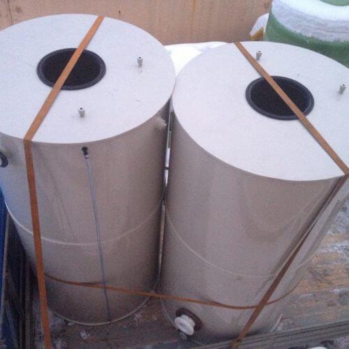 Емкости из ПП для питьевой воды с уровнемером Ø1,4 h 2.7 м