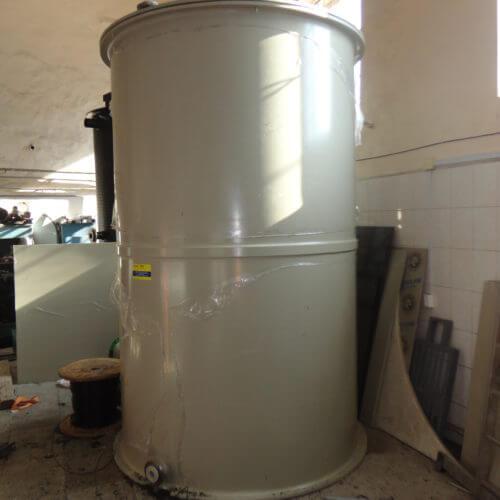 Емкость на 8 м³ 1850х3000 мм для питьевой воды