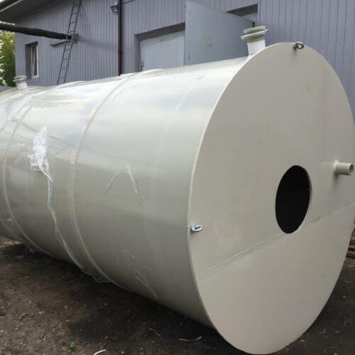 Емкость из ПП на 20 м³ Ø2400 Н=4500 (техн. вода)