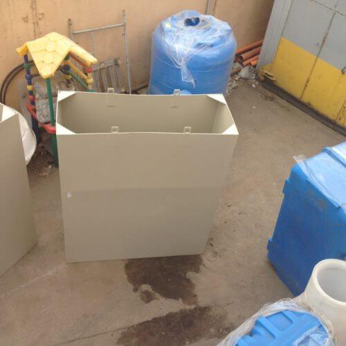 Вставка из ПП в металлическую ванну 4000х1300х1500