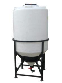 Пластиковый бункер 1400 л (Б1400МФК2С) 1