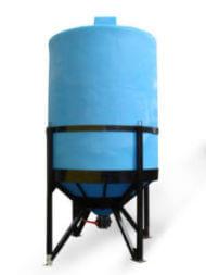 Пластиковый бункер 11500л (SB15-3Б1ФК2С160) 1