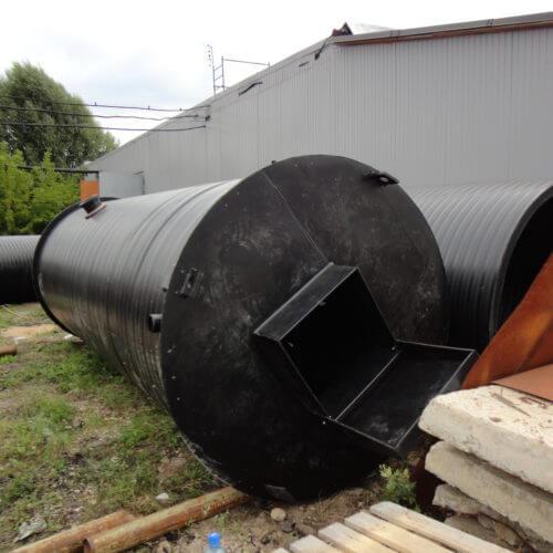 Комплектная канализационная насосная станция Germes-Plast KNS ПЭ 2-6
