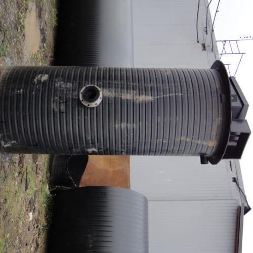 Комплектная канализационная насосная станция Germes-Plast KNS ПЭ 1,2-3,5