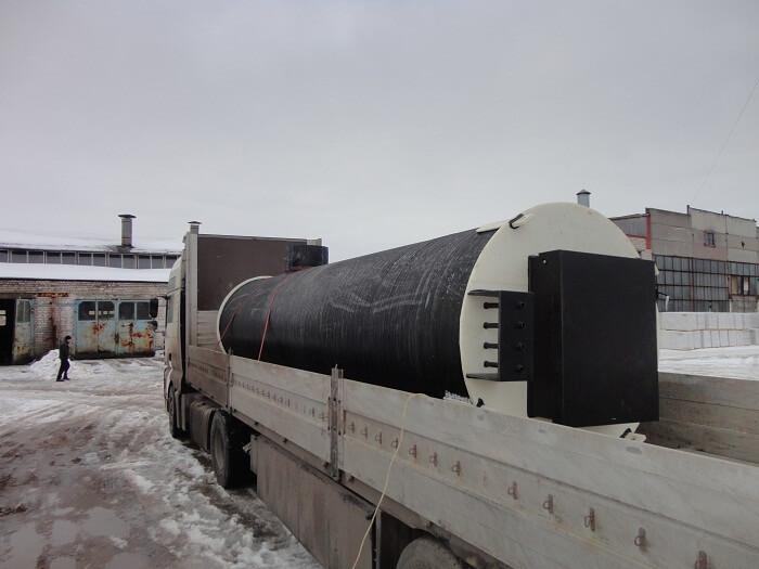 Фото №1. Комплектная канализационная насосная станция Germes-Plast KNS ПЭ 1,5/6. (Вид 1)