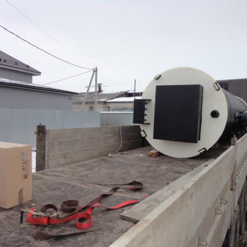 Комплектная канализационная насосная станция Germes-Plast KNS ПЭ 1,5-7