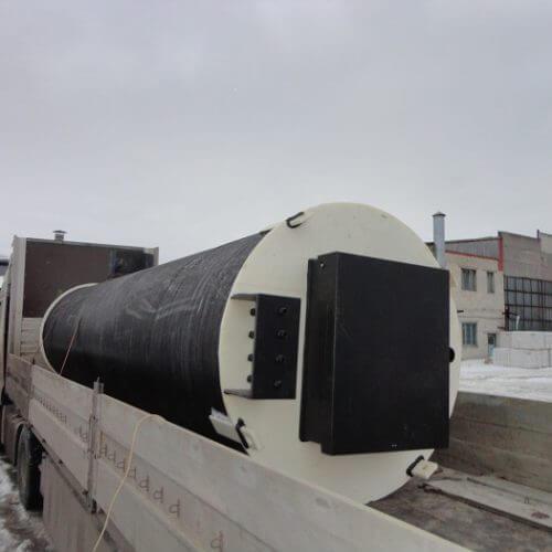 Комплектная канализационная насосная станция Germes-Plast KNS ПЭ 1,5-6