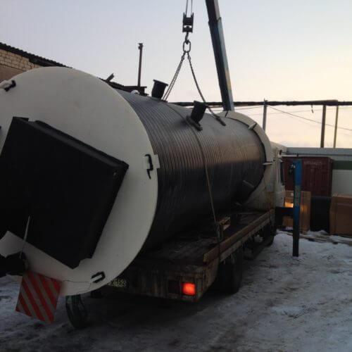 Комплектная канализационная насосная станция Germes-Plast KNS ПЭ 1,8-4,5