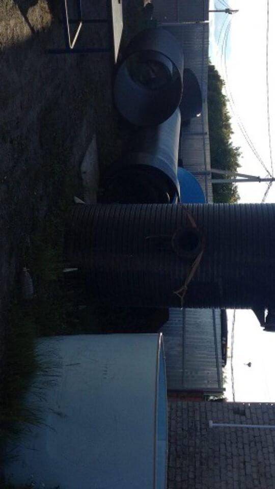 Фото №1. Комплектная канализационная насосная станция Germes-Plast KNS ПЭ 1,5/5. (Вид 1)