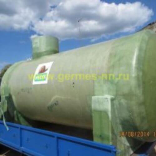 Емкости стеклопластиковые для дизельного топлива и химреагентов