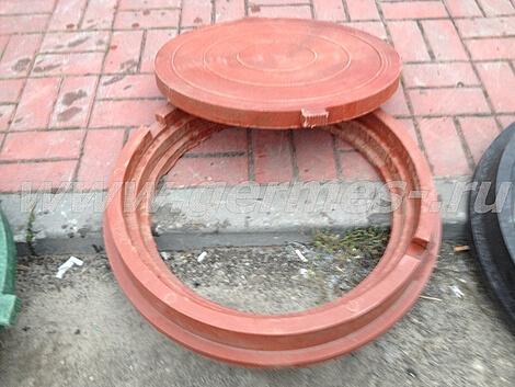 Полимерпесчаные люки для смотровых колодцев