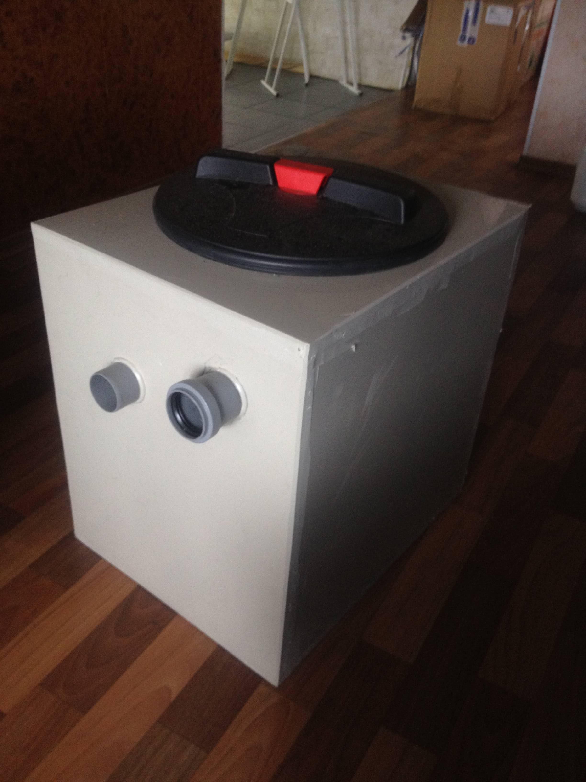 Фото №1. Бытовой жироуловитель на 0,5 л/с. (Вид 1)